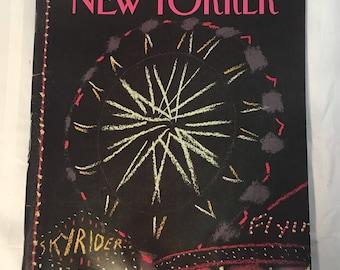 Vintage New Yorker Magazine- March 1985