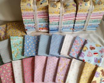 Dolly Jean - (22) Fat Quarters + 2 Panels- Fabric Bundle - Robert Kaufman by Darlene Zimmerman