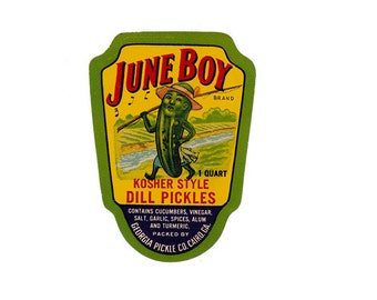 June Boy Georgia Kosher Style Dill Pickles