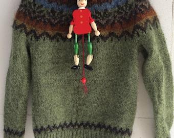 """Children Wool Sweater """"Afmæli"""""""