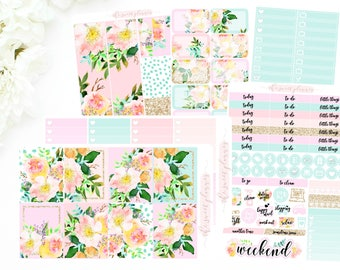 SUMMER FLORAL | 6 Page Sticker Kit | PREORDER | ECLPVertical