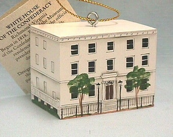 White House of the Confederacy Ornament