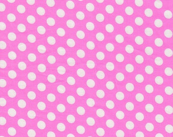 Pink with White Dots by Michael Miller