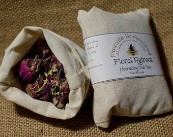 Floral Retreat || Tub Tea || Organic Bath Tea