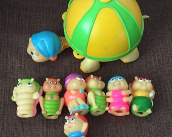Vintage Fisher Price Gloworms Lot