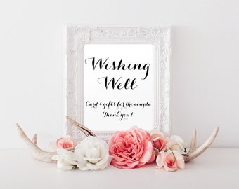 Wishing well sign | Etsy