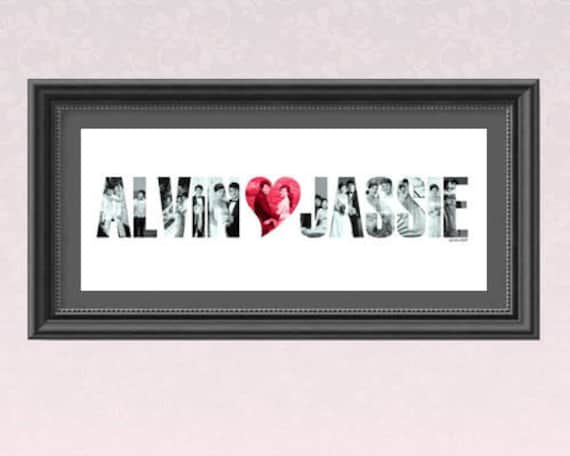 Personalized Couple Name Frame