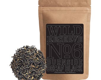 Decaf Black Tea | Wild Reserve Tea #6 | Water-Processed Decaf (4 ounce)