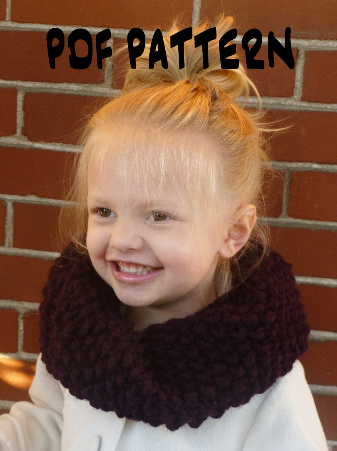 INSTANT DOWNLOAD Knitting PATTERN Toddler/Kids/Adult Mobius Seed ...