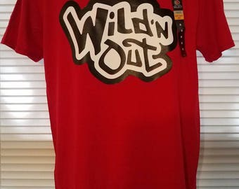 Wild n Out 2017 Season T-SHIRT (RED)