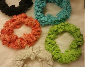 Crochet Hair Ties: Pick 2
