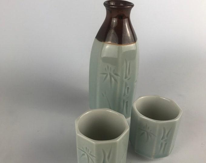 Vintage Japanese Ceramic Sake Set