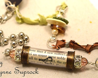 Whimsical Cargo Vessel Necklace 1