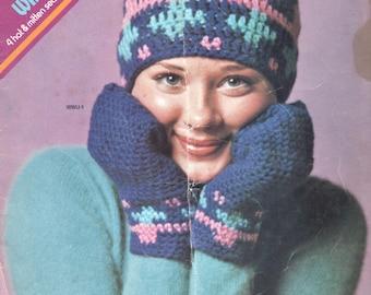Winter Warm-Ups Crochet Patterns, 4-in-1 Leaflet