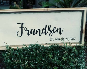 Personalized Sign