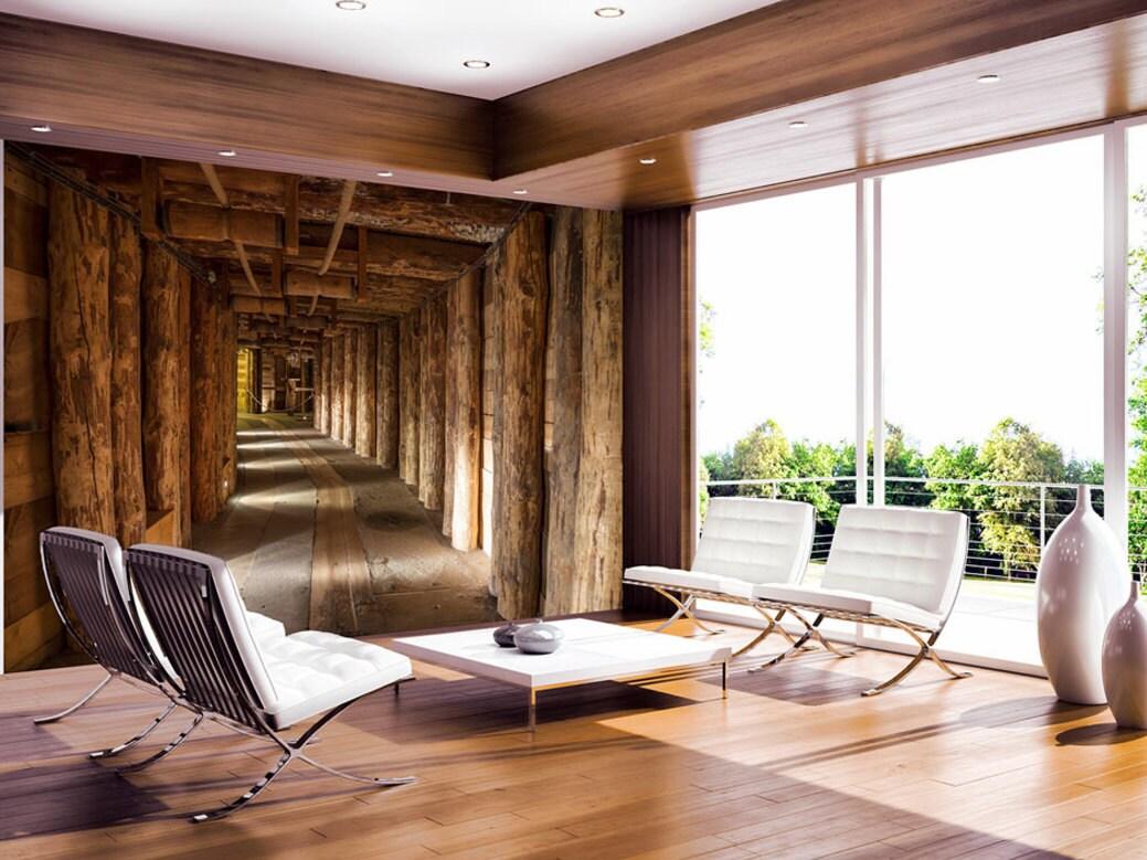 Foto behang muurschilderingen niet geweven 3d moderne kunst for 3d slaapkamer maken