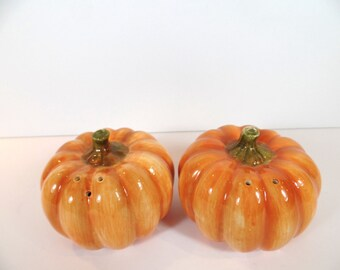 Otagiri Pumpkin Salt & Pepper Shaker Set - Otagiri - Salt And Pepper - Pumpkin - Kitchen - Vintage - Gift For Her - Gift - Ceramic