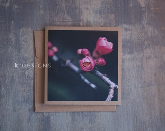Floral Photo Card - Spring