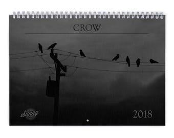 Crow 2018 Wall Calendar