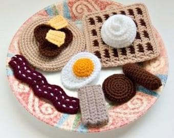 Crochet Breakfast Food Pattern Collection PDF