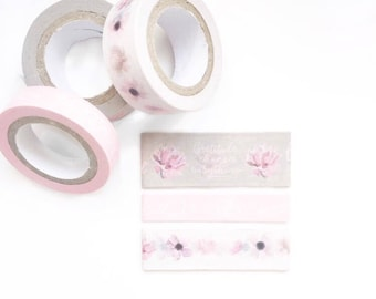 Pale Blush Washi Sampler