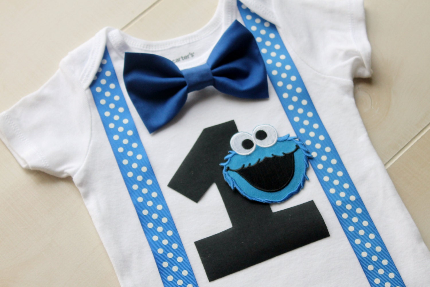 Cookie Monster First Birthday Outfit Cookie Monster Cake
