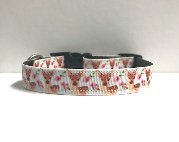 "5/8"" Pastel Deer Collar"
