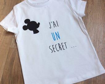 Tee shirt pregnancy announcement boy... Future big brother