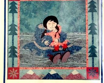 Quiltalaska Eskimo Embrace Art Quilt Pattern
