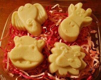 Animal Soaps, Soap for Kids, Honey Oatmeal Soap, Oatmeal Kids Soaps, All Natural Kid's Soaps, Kids Soap, Kids Soap Bar, Wild Animal Soap