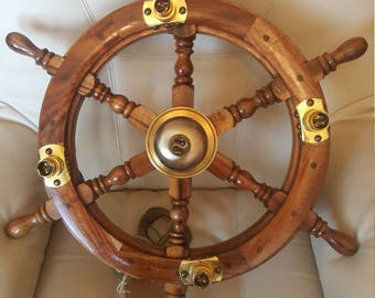 Boat Wheel Chandeliers