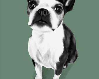 CUSTOM Digital Pet Portrait! YOUR PET!