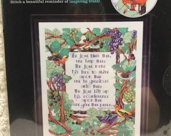 Zweigart Cross Stitch Kit - The Lord Bless Thee