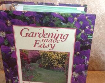Vintage gardening book