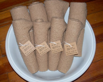 Fat 1/4 Wool Felt Neutral Shades