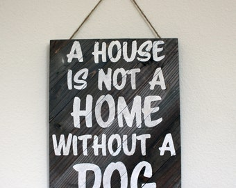 Personalized Pet Home Artwork - Wood or Canvas