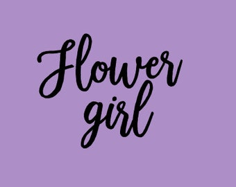 Free Shipping!!! Flower Girl