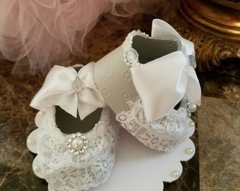 Gray Shoe Cake Topper /Baby Shower Cake Topper / Baby Cake Topper
