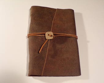 Oil Tanned Leather Covered Signature Journal