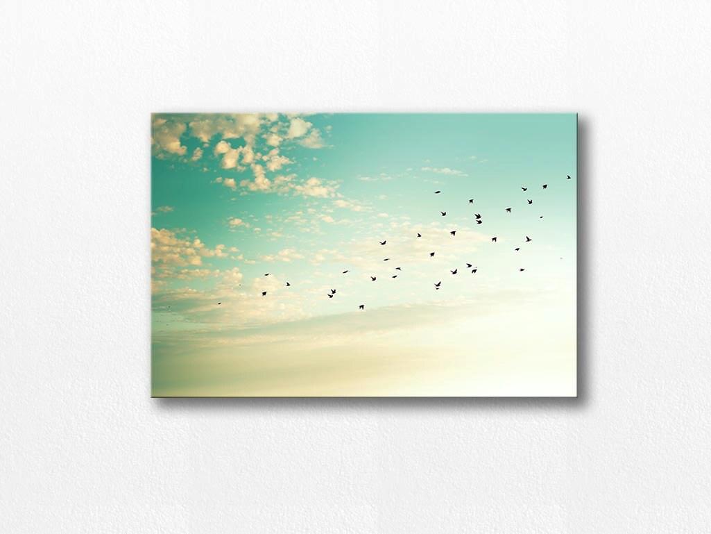 Vögel Fotografie Leinwand wickeln Fine Art Fotografie Leinwand