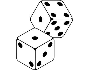 game dice clipart etsy rh etsy com dice clipart black and white dice clipart free