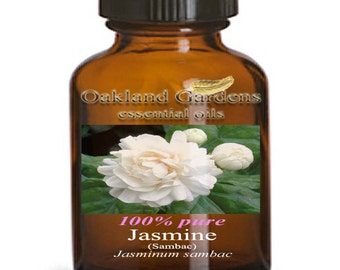 JASMINE SAMBAC Essential Oil - Therapeutic Grade Essential Oil - 3% ABSOLUTE - Relaxing, intoxicating, warming. Great aphrodisiac