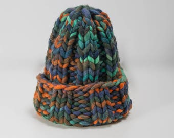 Multicolored Knit Hat SALE, Winter Hat, Beanie, Beanie Hat, Women Hat, Knit Beanie, Wool Hat, Winter Beanies, Womens Knit Hat
