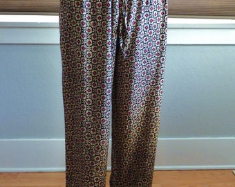 90s Notations Clothing Co. patterned pants