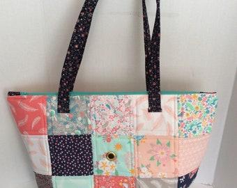 XLarge Knitting Bag, XLarge Knitting Project Bag, Big Beautiful Bag, Extra Large Knitting Project Bag, Large Crochet Project Bag