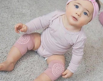 Tummy Time Crawling Knee Pads for Newborns and Infants