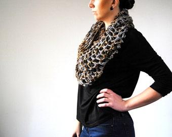 TITAN Cowl Knitting Pattern PDF