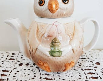 Wise Owl Tea Pot