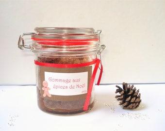 Scrub with orange and spices - 240 g - Sugar scrub - scrub for body