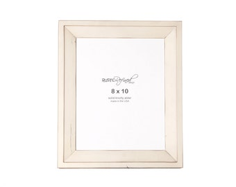 8x10 Haven picture frame - Off White, Free Shipping